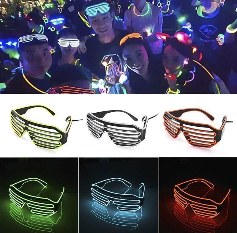 Night Party LED Disco Glasses