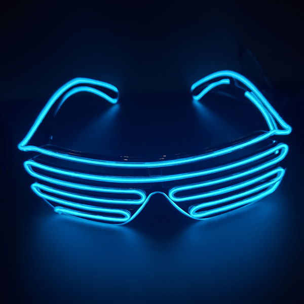5 Pack: Night Party LED Disco Glasses