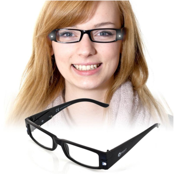 Unisex LED Reading Glasses