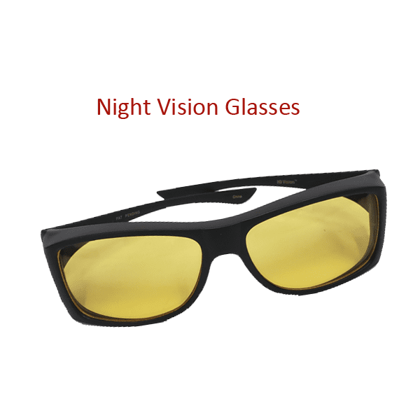 """Day & Night Clear Vision Driving Glasses W/ Universal Fit Visor Clip"" - FREE SHIPPING For A Limited Time Only!"