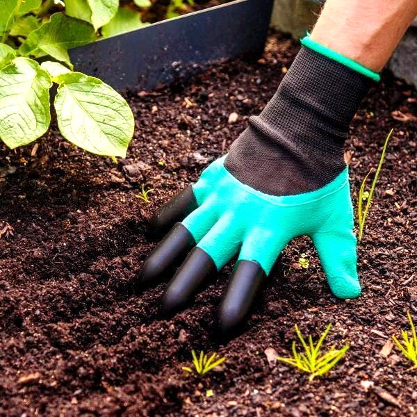 2 Pairs: Garden Genius Gloves with Claws
