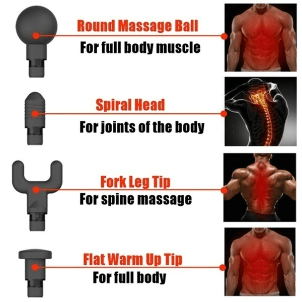 LCD Display Deep Muscle Massage Device