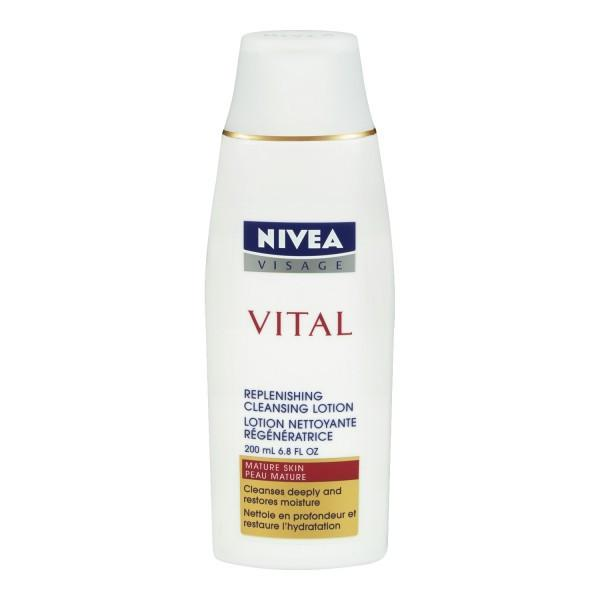 Health & Beauty - Nivea Visage Vital Replenishing Cleansing Lotion, 200 ML