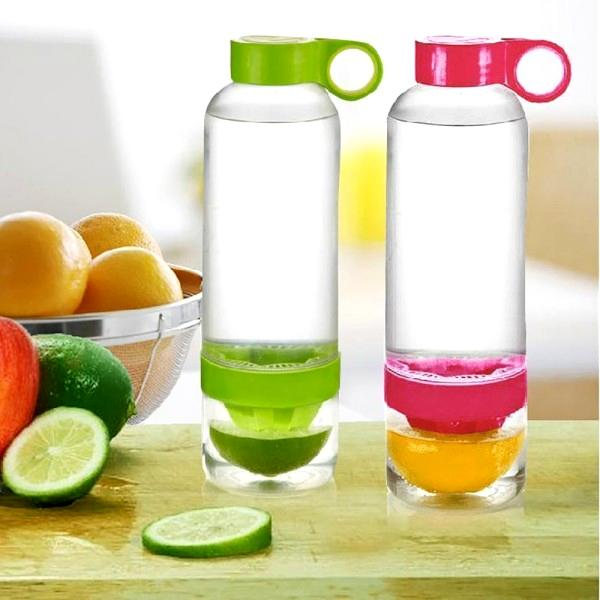 Health - Citrus Zinger Fruit Infuser Portable Water Bottle - 3 Colours Available!