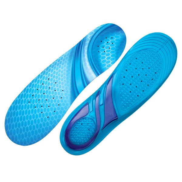 Health - Massaging Gel Insoles With Dual Wave Technology