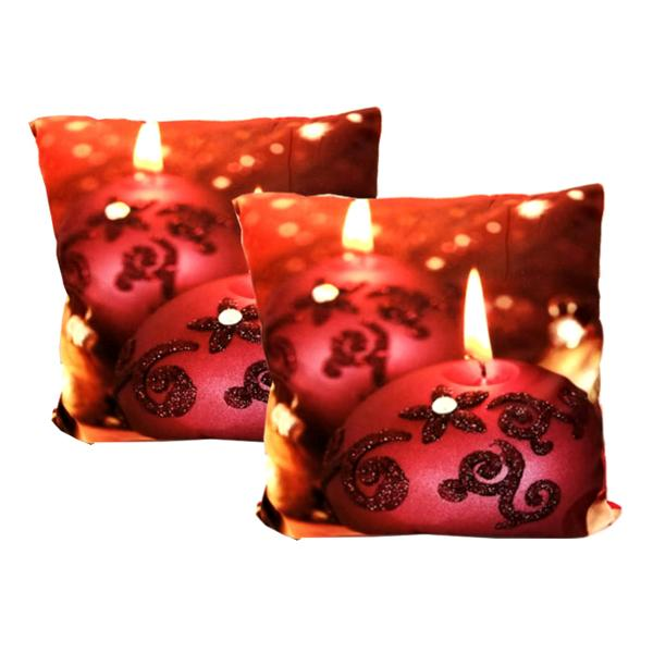 "Holiday - ""Deck The Halls"" Festive Holiday Decor Toss Cushion"