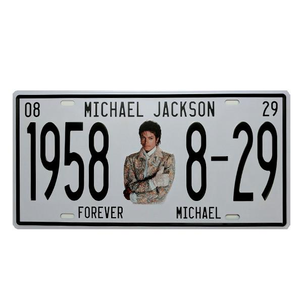 Home - Forever MJ Vintage License Plate Wall Decor Sign