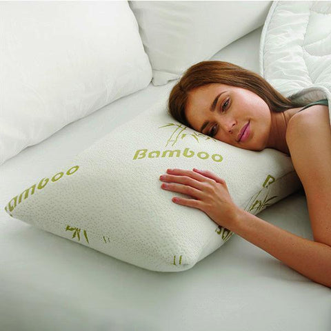 Hypoallergenic Bamboo Memory Foam Pillows