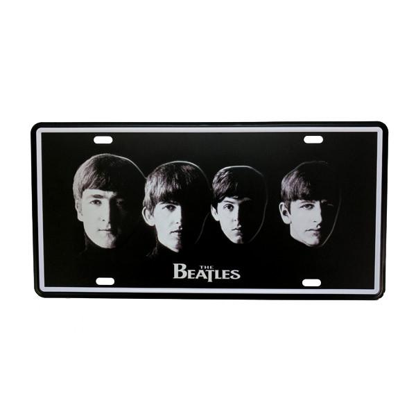 Home - Iconic Beatles Vintage License Plate Wall Decor Sign