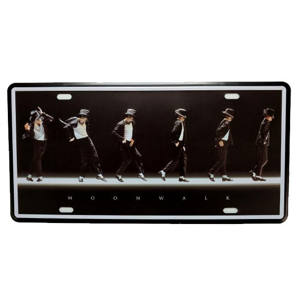 Home - MJ Moonwalk Vintage License Plate Wall Decor Sign