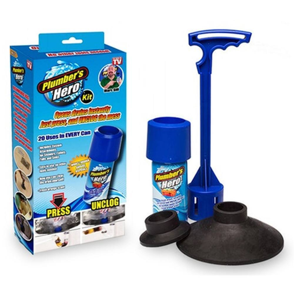 Home - Plumber's Hero Kit - Unclog Drains Instantly