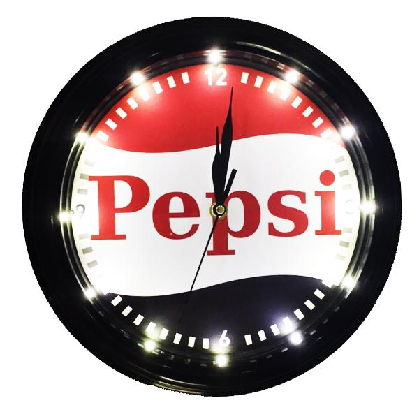 Home - Vintage Pepsi Logo LED Wall Clock