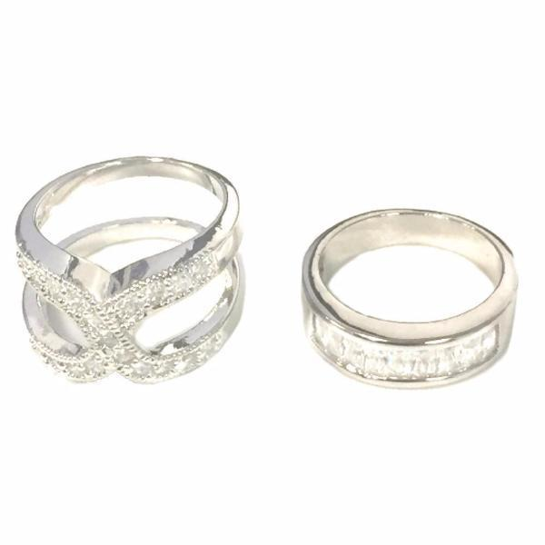 Jewellery - Infinite Love Set Of 2 Layered Rings