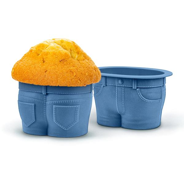 Kitchen - 4 Pack: Muffin Tops Quirky Silicone Baking Cups