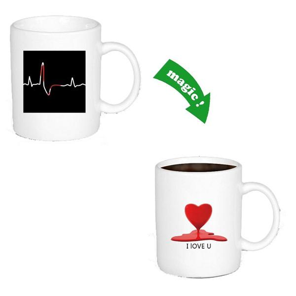 Kitchen - ECG Colour & Graphic Changing Mug