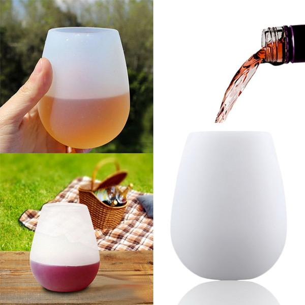 Kitchen - Foldable Silicone Unbreakable Wine/Beer Glass