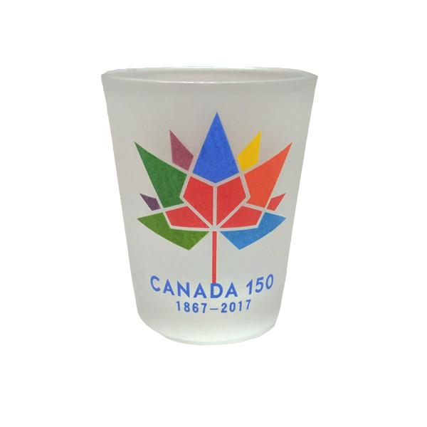 Kitchen - Limited Edition Canada 150 Logo Celebration Frosted Shot Glasses