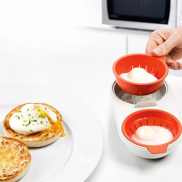 Kitchen - Perfectly Poached Double Egg Cooker