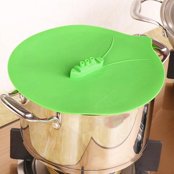 Kitchen - Steamship Silicone Lid Cover - Assorted Colors