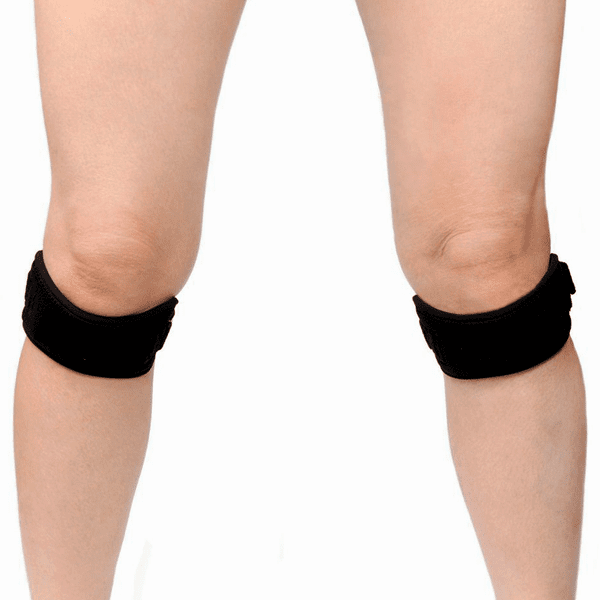 """Unisex Open Patella Adjustable Compression Knee Brace"" Knee Protection"