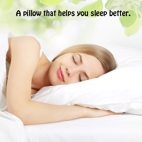Lavender Infused Bamboo Pillow with Free 10ml Lavender Fragrance Oil - NO MORE ANXIETY! You'll Sleep Better!
