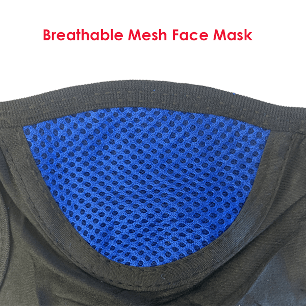 3 Pieces: Breathable Mesh Face Mask - Assorted Colors