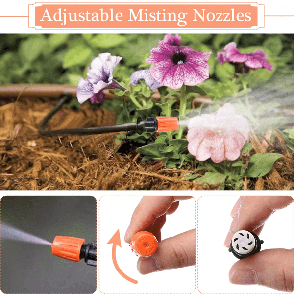 Outdoor Mist Cooling Kit