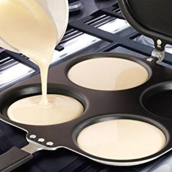 Multi-Purpose Non-Stick EZ Pancake And Egg Cooking Pan
