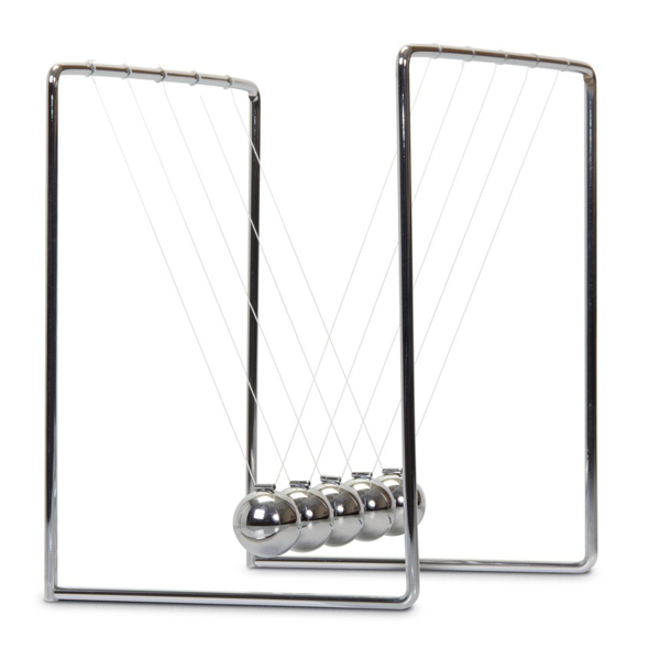 Sir Isaac Newton's Cradle Classic Desktop Accessory