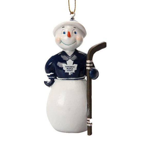NHL - Toronto Maple Leafs Officially Licensed Jack Frost Snowman Ornament