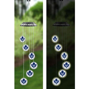 NHL - Toronto Maple Leafs Officially Licensed Solar Mobile With 6 Light-Up Discs