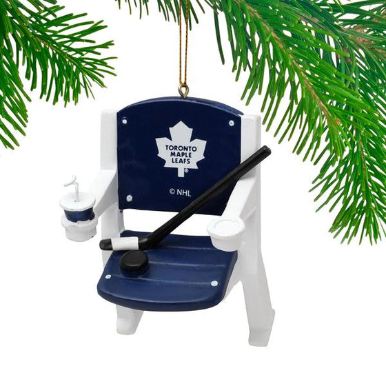 NHL - Toronto Maple Leafs Officially Licensed Stadium Chair Holiday Ornament