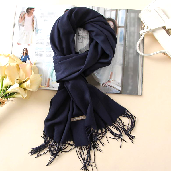 Classic Style Pashmina Scarf - Assorted Colors Available!