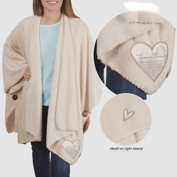 Royal Plush Comfort Shawl
