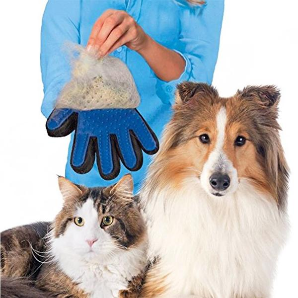 Pets - True Touch Five-Finger Deshedding Pet Glove