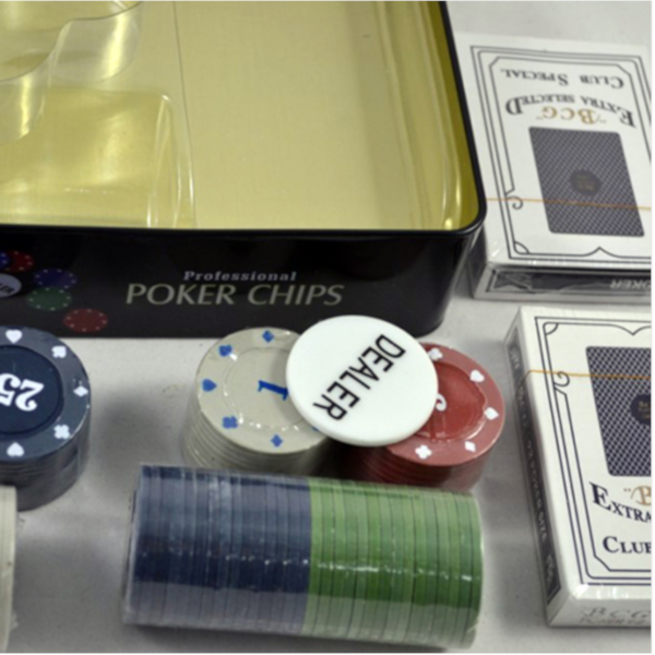 Professional Poker Chips Gift Set