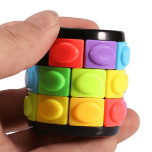 Interactive Rotating & Sliding Puzzle