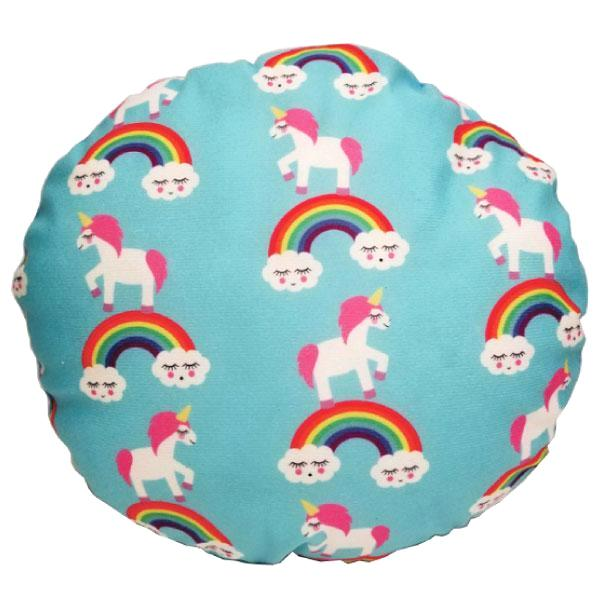 Decorative Round Unicorn Cushions - 8 Styles Available!