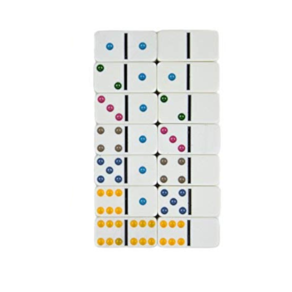 28-Piece Set Domino Tiles