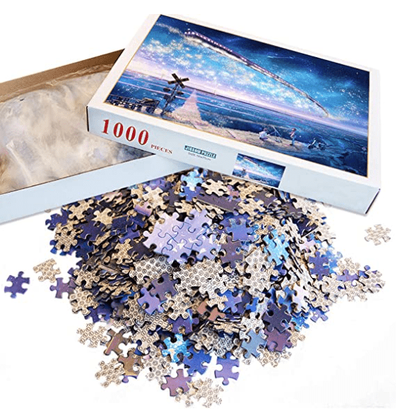 """Sky Train"" - 1000 Pieces Jigsaw Puzzles"