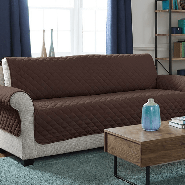 """Sofa Saver"" Quilted Reversible Furniture Protective Cover"