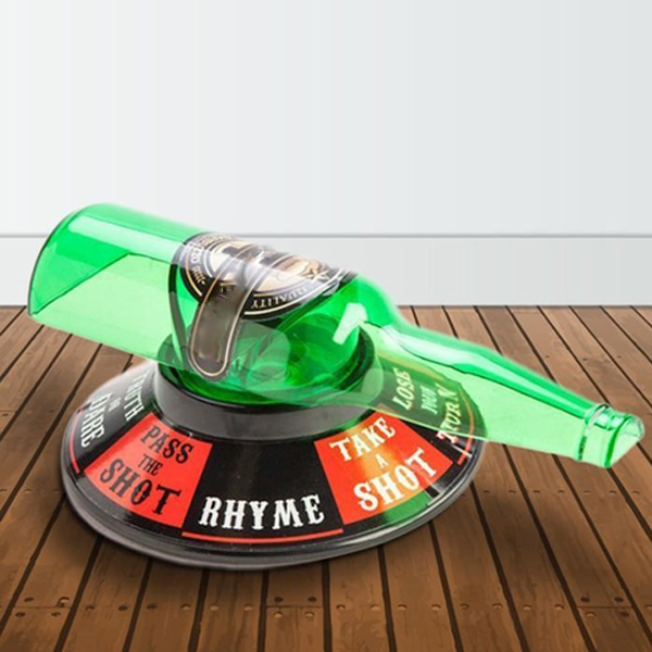 Spin the Bottle Roulette Drinking Game