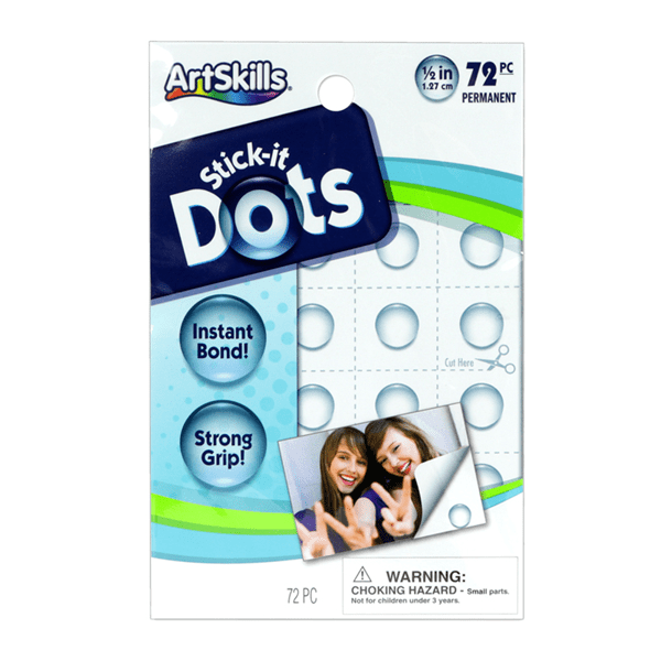 2 Pack: Artskills 72 Pieces Stick-it Dots
