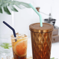 2 Piece: Eco-Friendly Reusable Drinking Straws