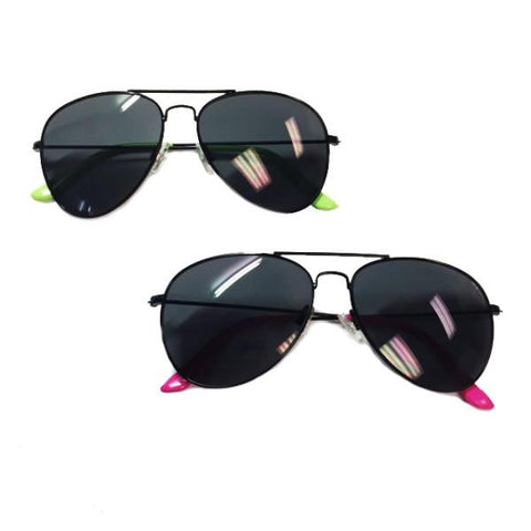 Sunglasses - Vacation Aviators - 2 Colours Available