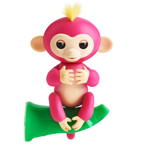Toys - The Original Fingerlings Interactive Monkey With Exclusive Bonus Stand