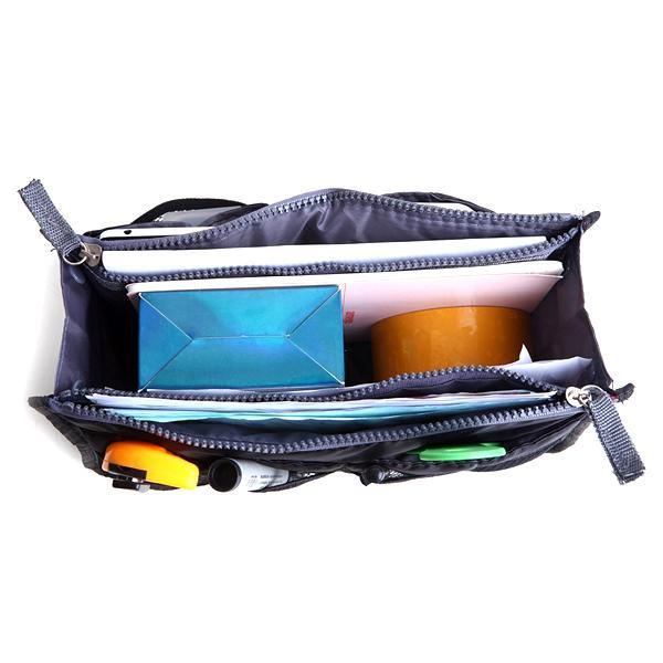 Travel - Slim Bag-in-Bag Travel Insert And Purse Organizer - Assorted Colours