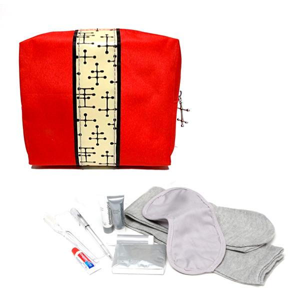 Travel - TSA-Approved Little Red Travel Amenity Kit