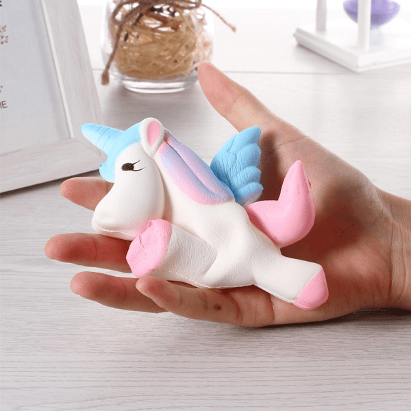 Fast Rising Squishy Unicorn Stress Relief Toy