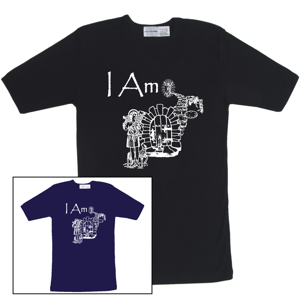I Am (Colored T Shirts with White Image)
